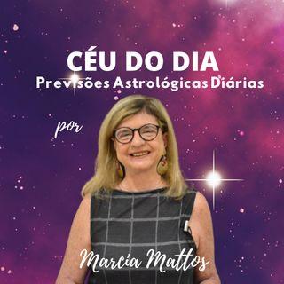Céu do dia - 23/09 – Instabilidade e Imprevistos - Marcia Mattos
