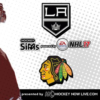 Kings vs Blackhawks (NHL 17 Hockey Sims)