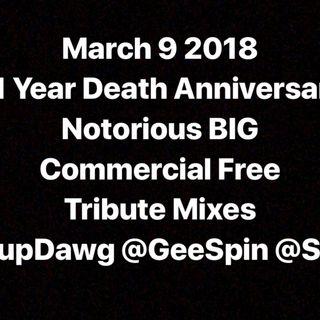 Jamn945 Dj Pup Dawg GeeSpin Snicka Biggie Tribute 2018