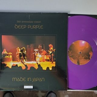 Deep Purple - Made In Japan 25th Ann release on remastered purple vinyl Limited Edition #1160