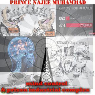 NAJEE MUHAMMAD. MIND CONTROL /PRISON INDUSTRIAL COMPLEX