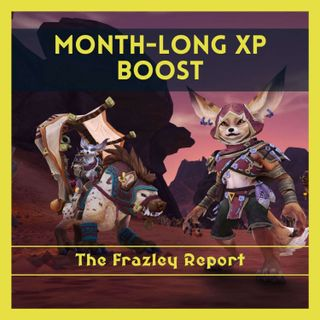 Month-Long XP Boost