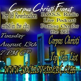"Corpus Christi ""City By The Sea"" Reverbnation Hits"