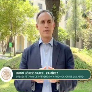 Quédate en casa, es la última oportunidad para evitar contagio masivo: López-Gatell