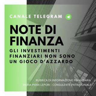 Note di Finanza | Gli investimenti finanziari non sono come il gioco d'azzardo