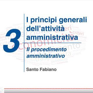 03 - il procedimento amministrativo