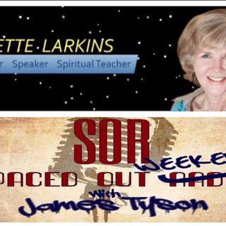 April 16th 2016 10pm(PDT) Author & ET Experiencer Lisette Larkins