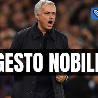 Tottenham eliminato, gesto da appalusi di Mourinho con gli avversari
