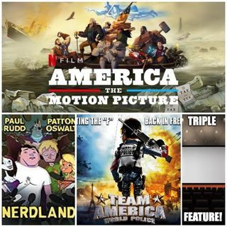 Triple Feature: America -  The Motion Picture, Team America - World Police and Nerdland