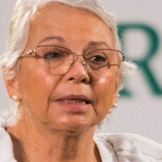 Olga Sánchez Cordero pide respeto entre INE y Morena
