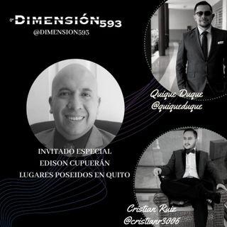 EDISON CUPUERAN || LUGARES EMBRUJADOS DE QUITO || NECROTURISMO