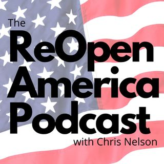 Ep 19: Would Jesus Wear a Mask? The ReOpen America Podcast Returns!! Andrew Manuse and Melissa Blasek of ReOpen New Hampshire Join Me!