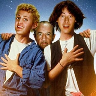Season 3:  Episode 128 - Bill & Ted's Excellent Adventure (1989) / Pulp Fiction (1994)