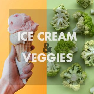 Ice Cream & Veggies
