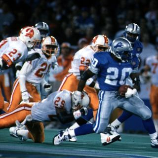 Barry Sanders Was The Greatest Runner With A Football In His Hands Of All Time