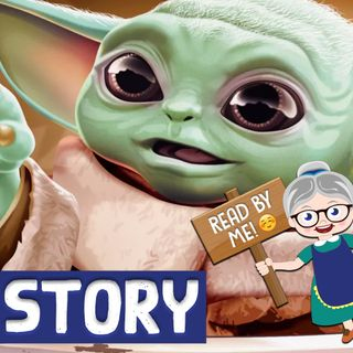 Baby Yoda Story - Meeting the Mandalorian