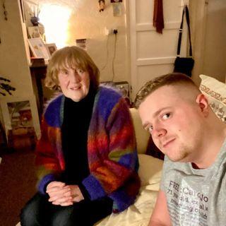 Jordan visits Carol Woods