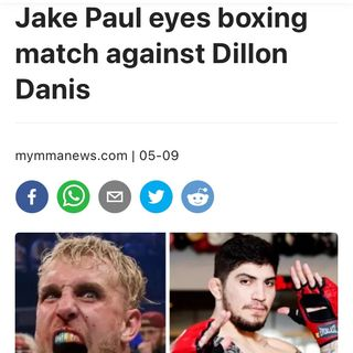 Jake Paul vs Dillon danis logan Paul and more