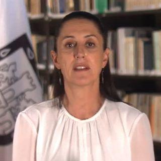 La jefa de gobierno Claudia Sheinbaum, informó que, en la capital del país, hay 21 casos confirmados de Covid-19