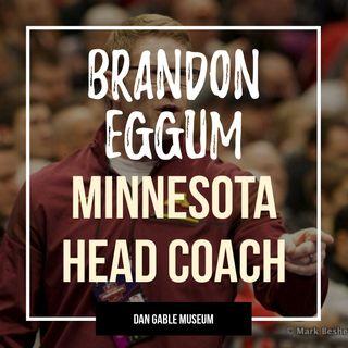 Minnesota head coach Brandon Eggum - OTM554