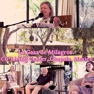 "April 28th - ACIM Talk & Live Music at ""La Casa de Milagros"" Co-Living Center with David Hoffmeister & Svava"