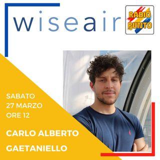 Qualità dell'aria con Wiseair e Arianna: intervista a Carlo Alberto Gaetaniello. PARTE 1