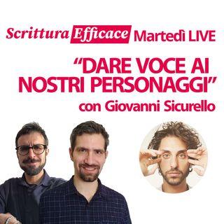 Dare voce ai personaggi, con Giovanni Sicurello
