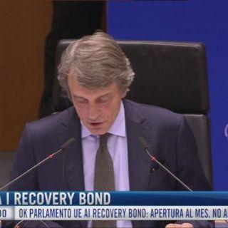 Parlamento Ue approva i Recovery-bond. Apertura al Mes ma non ai coronabond