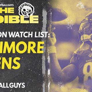 2021 Fantasy Football - Baltimore Ravens Preseason Watch List