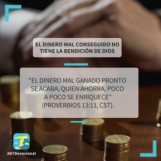 19 de mayo - El dinero mal conseguido no tiene la bendición de Dios - Una Nueva Versión de Ti 2.0 - Devocional Jóvenes
