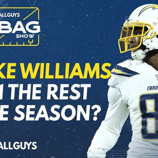 Is Mike Williams a WR1 for the rest of the season? || Footballguys || Fantasy Football 2021