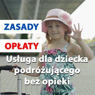 Usługa dla dziecka podróżującego bez opieki - Lufthansa
