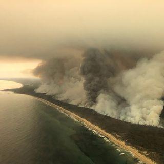 El Humo De Los incendios De #Australia Llega A La #Argentina
