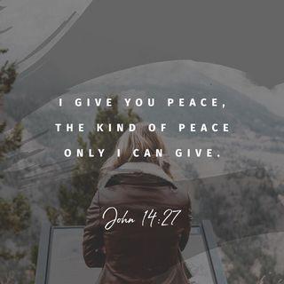 Episode 181: John 14:27 (July 1, 2018)