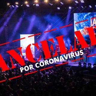 Conciertos cancelados por pandemia de coronavirus