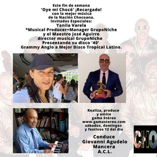 Oye mi Chocó Marzo 20 de 2021 Grupo Niche Premio Grammy Anglo