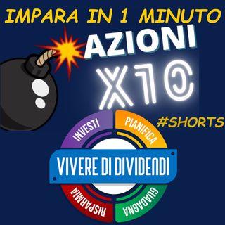 COME TROVARE LE AZIONI CON IL PREZZO PRONTO AD ESPLODERE AL RIALZO    #shorts