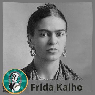 Alejandra Ortiz con Frida Kahlo
