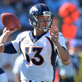 Gut Reaction: Are The Broncos Deluding Themselves With Trevor Siemian?