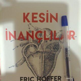 Kitap Alıntı: Kesin İnançlılar / Eric HOFFER