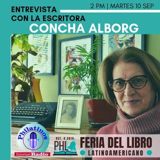 Concha Albor |Feria del Libro Latino en Philadelphia