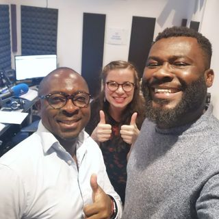 Isaac Hammond and Nana Bonnie, Project Ghana, OTG