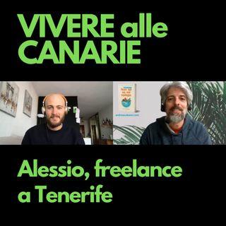 Alessio, freelance a Tenerife