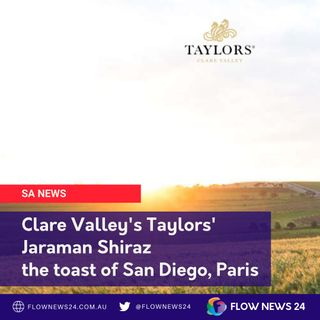 Mitchell Taylor from Taylors Wines (@TaylorsWines) talks about their world-beating win
