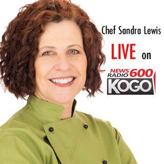 Chef Sandra Lewis || Bad diets vs. smoking || Fox News 600 KOGO || 4/24/19