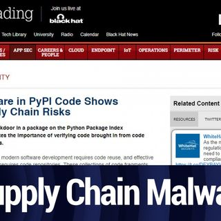 Malware in the Supply Chain | TWiT Bits