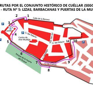 Cuéllar: Barbacanas y puertas (y ruta 5).