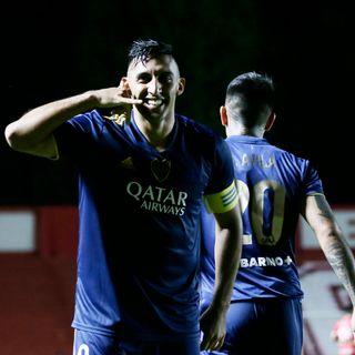 Gol de Boca: Ramón Ábila 1-2