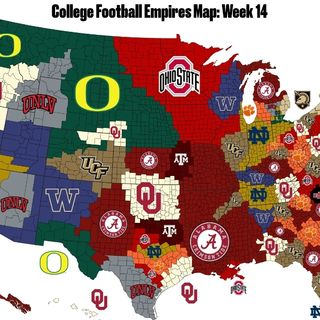 (TOP 32 COLLEGE FOOTBALL TEAMS) The Underground Railroad Show