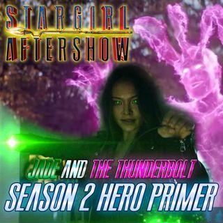 Stargirl S2 Preshow - Jade and the Thunderbolt